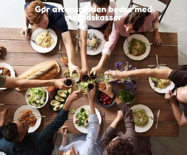 Gør aftensmaden bedre med måltidskasser