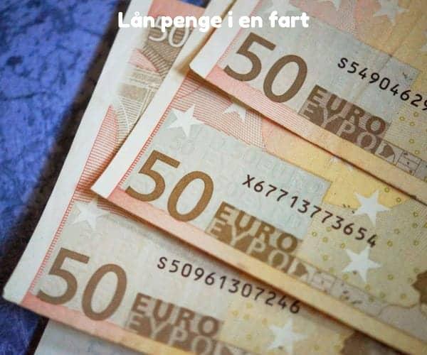 Lån penge i en fart