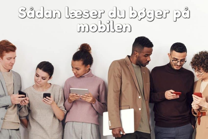Sådan læser du bøger på mobilen