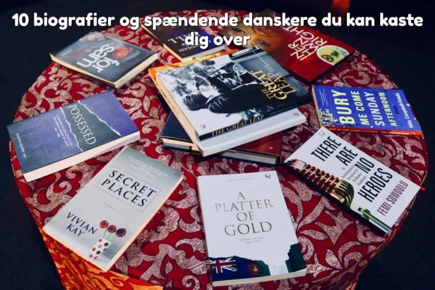 10 biografier og spændende danskere du kan kaste dig over